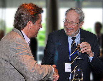 James Macsay and Edgar Schein at the Trias Kongress 2009